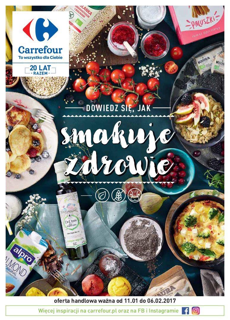 Gazetka promocyjna Carrefour do 06/02/2017 str.0