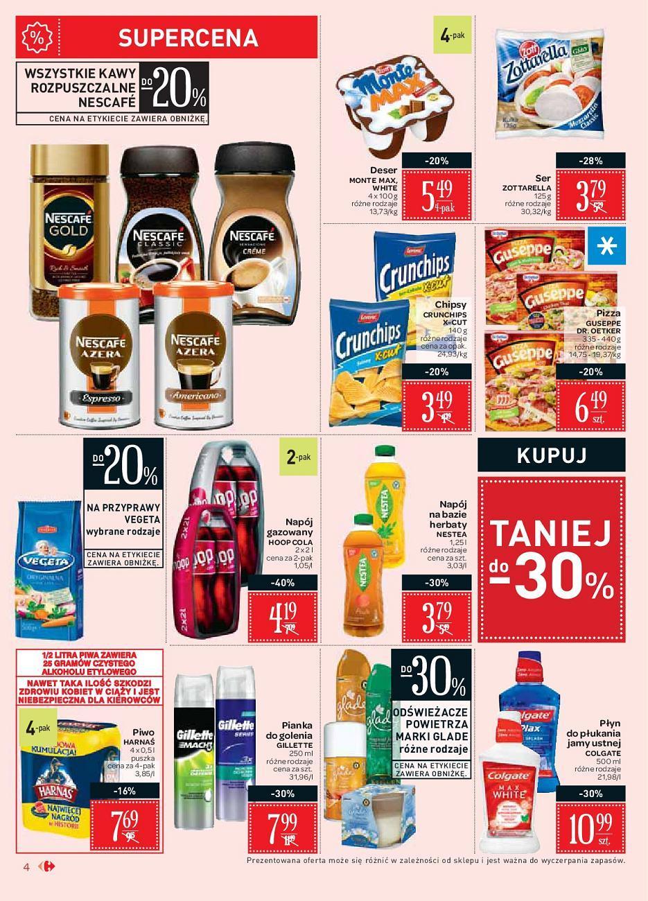 Gazetka promocyjna Carrefour Market do 15/09/2018 str.4