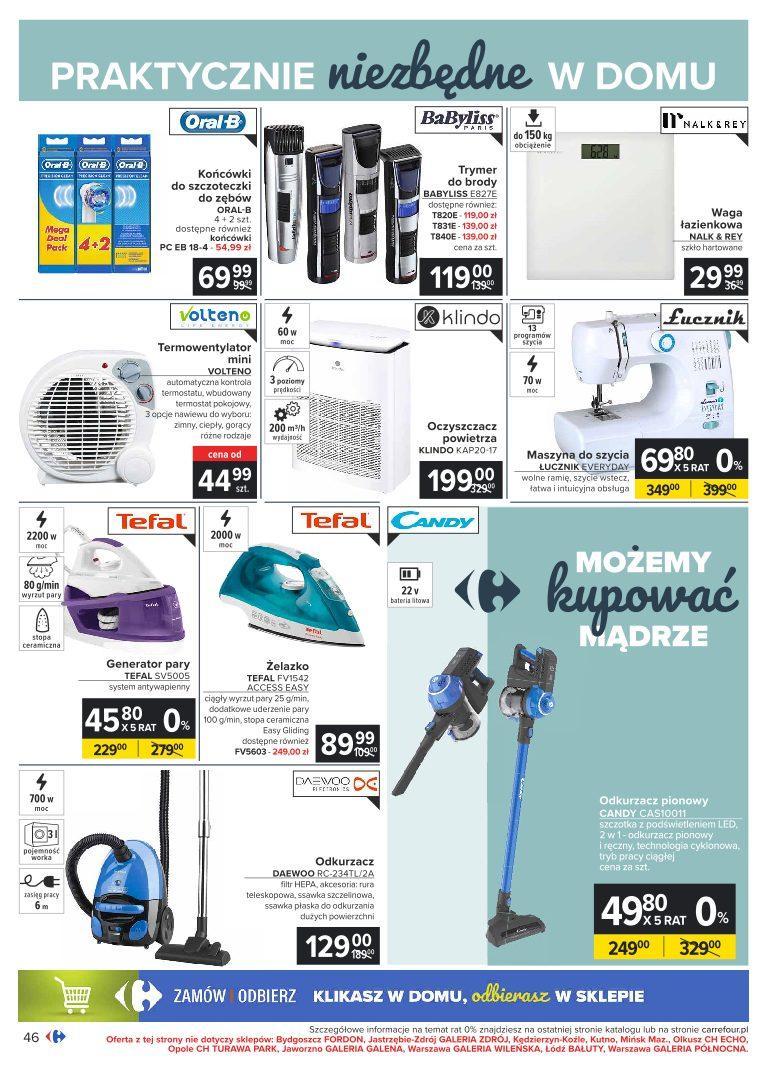 Gazetka promocyjna Carrefour do 07/11/2020 str.46