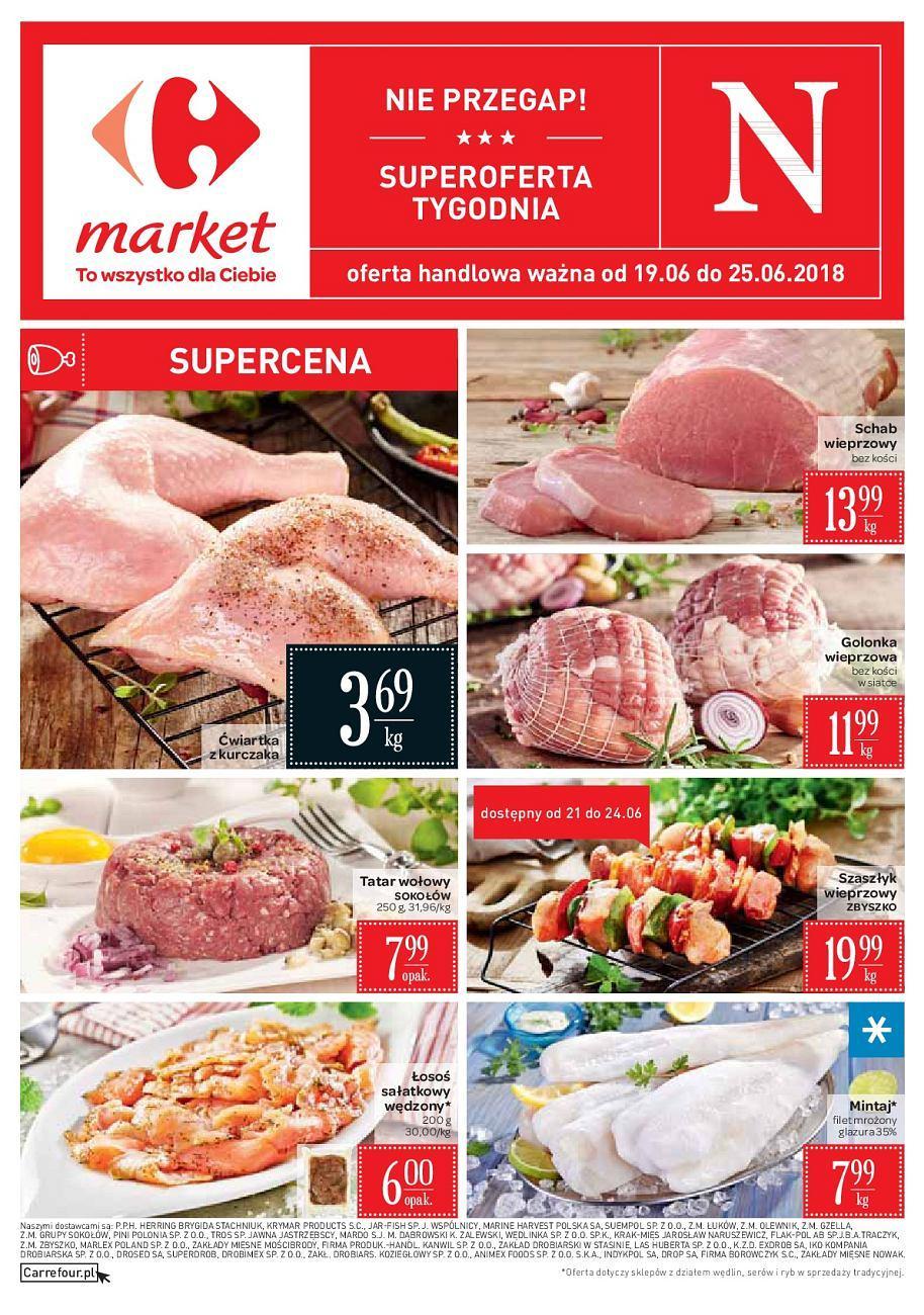 Gazetka promocyjna Carrefour Market do 25/06/2018 str.0