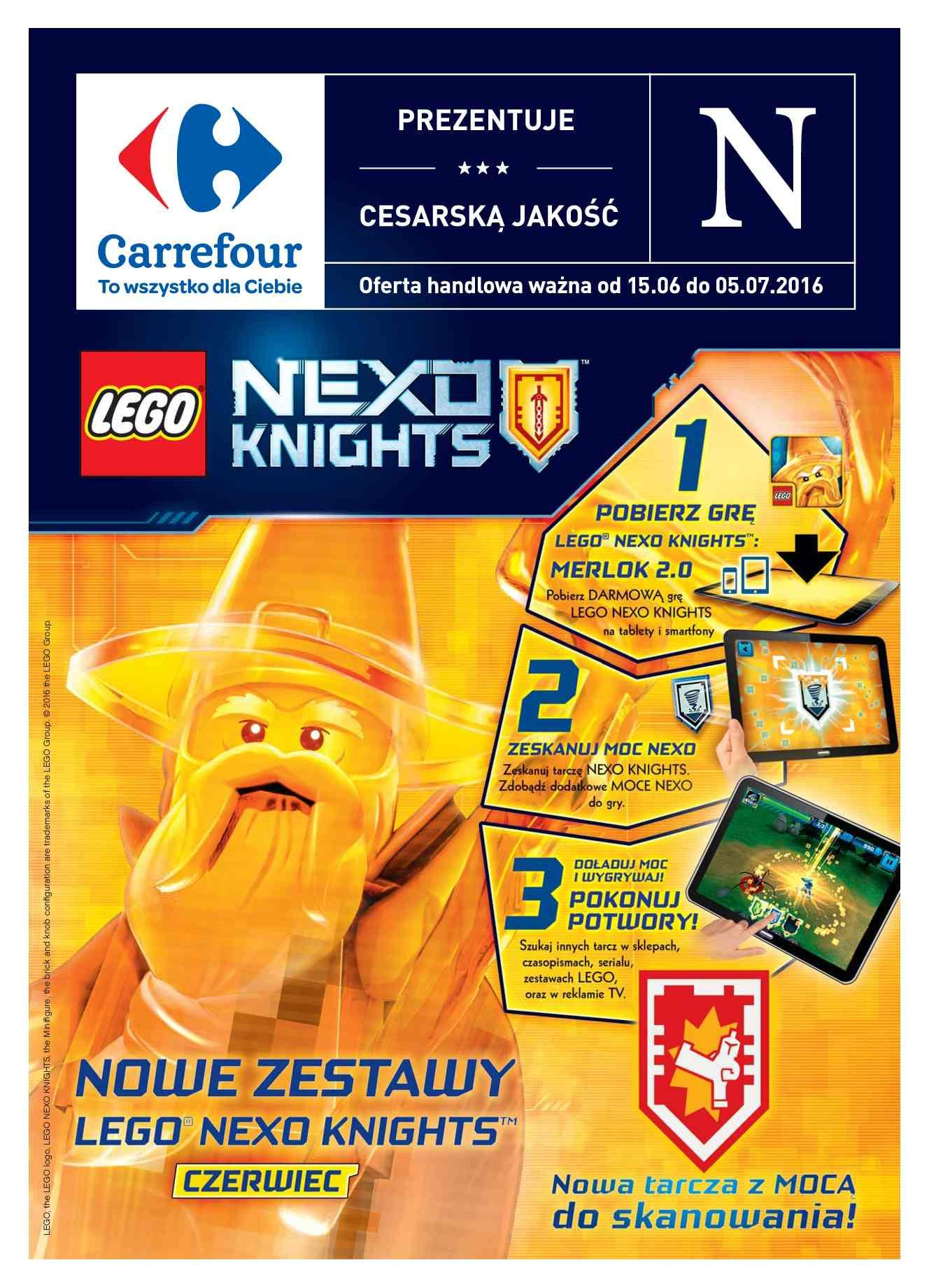 Gazetka promocyjna Carrefour do 05/07/2016 str.0