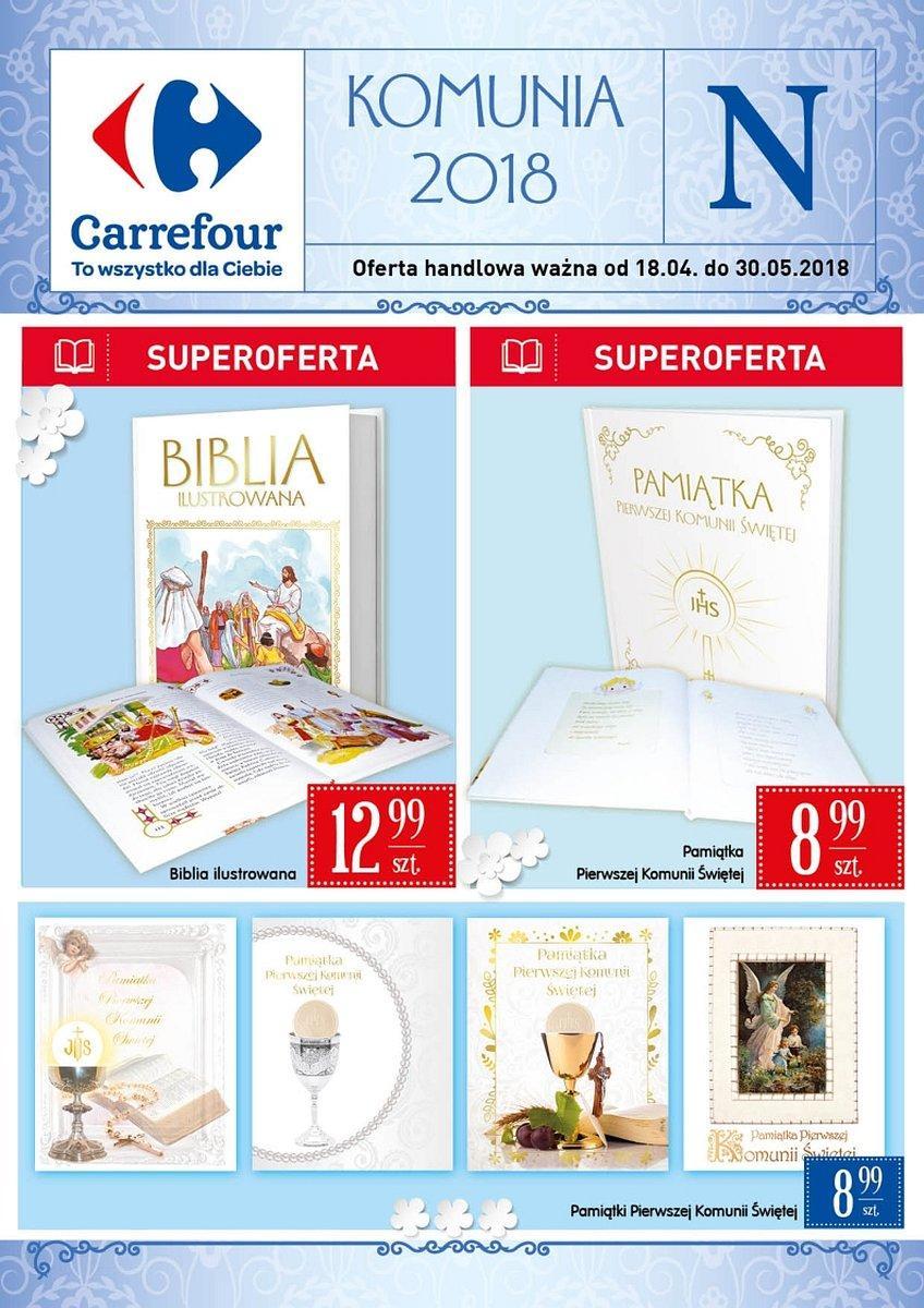 Gazetka promocyjna Carrefour do 30/05/2018 str.0