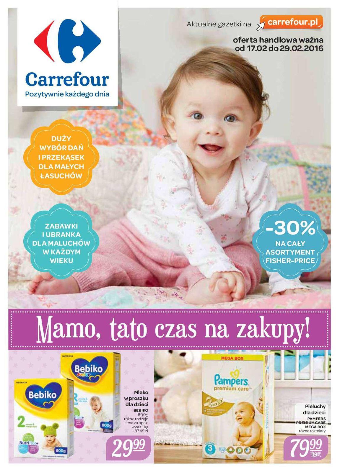 Gazetka promocyjna Carrefour do 29/02/2016 str.0