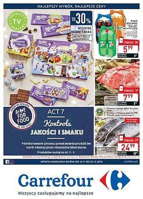 Carrefour gazetka - od 13/11/2018 do 25/11/2018