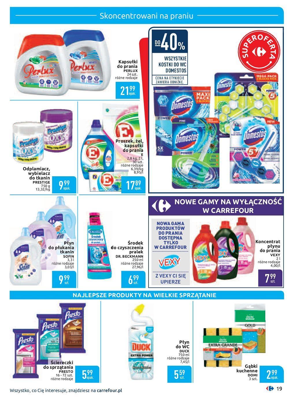 Gazetka promocyjna Carrefour do 30/09/2018 str.19