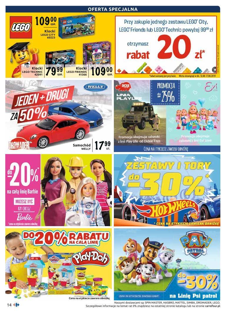 Gazetka promocyjna Carrefour do 07/09/2019 str.13