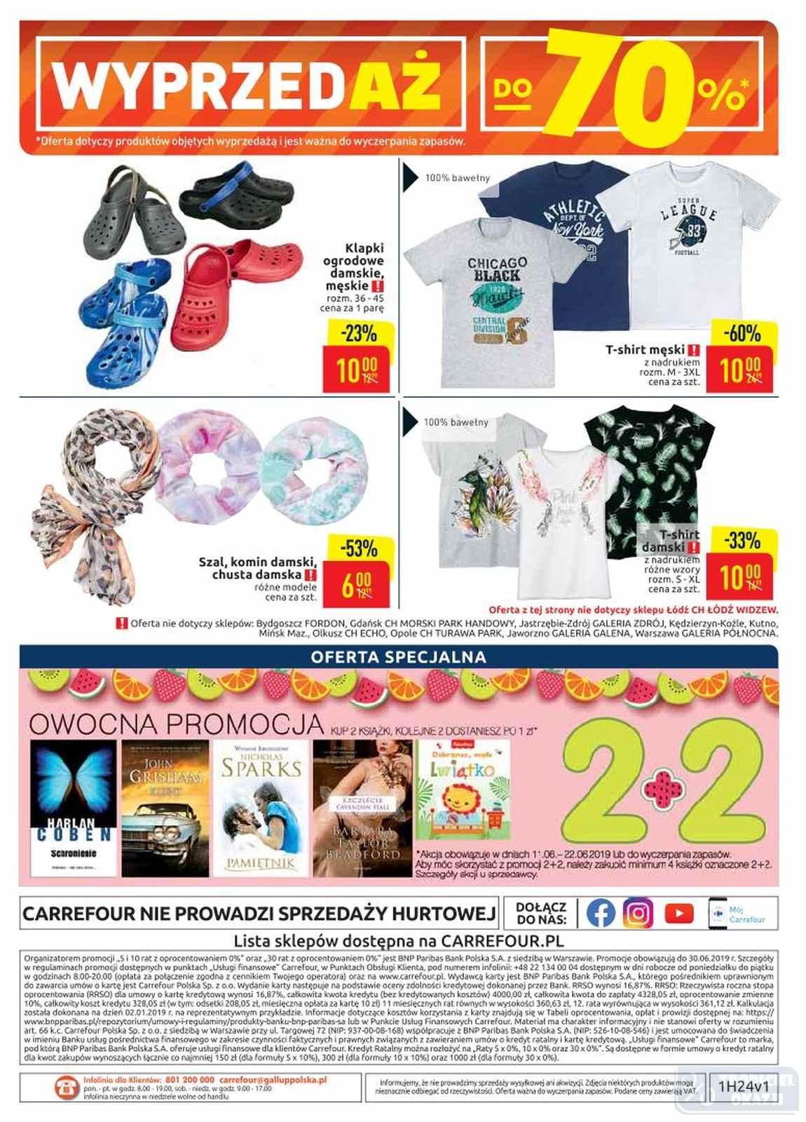 Gazetka promocyjna Carrefour do 22/06/2019 str.39