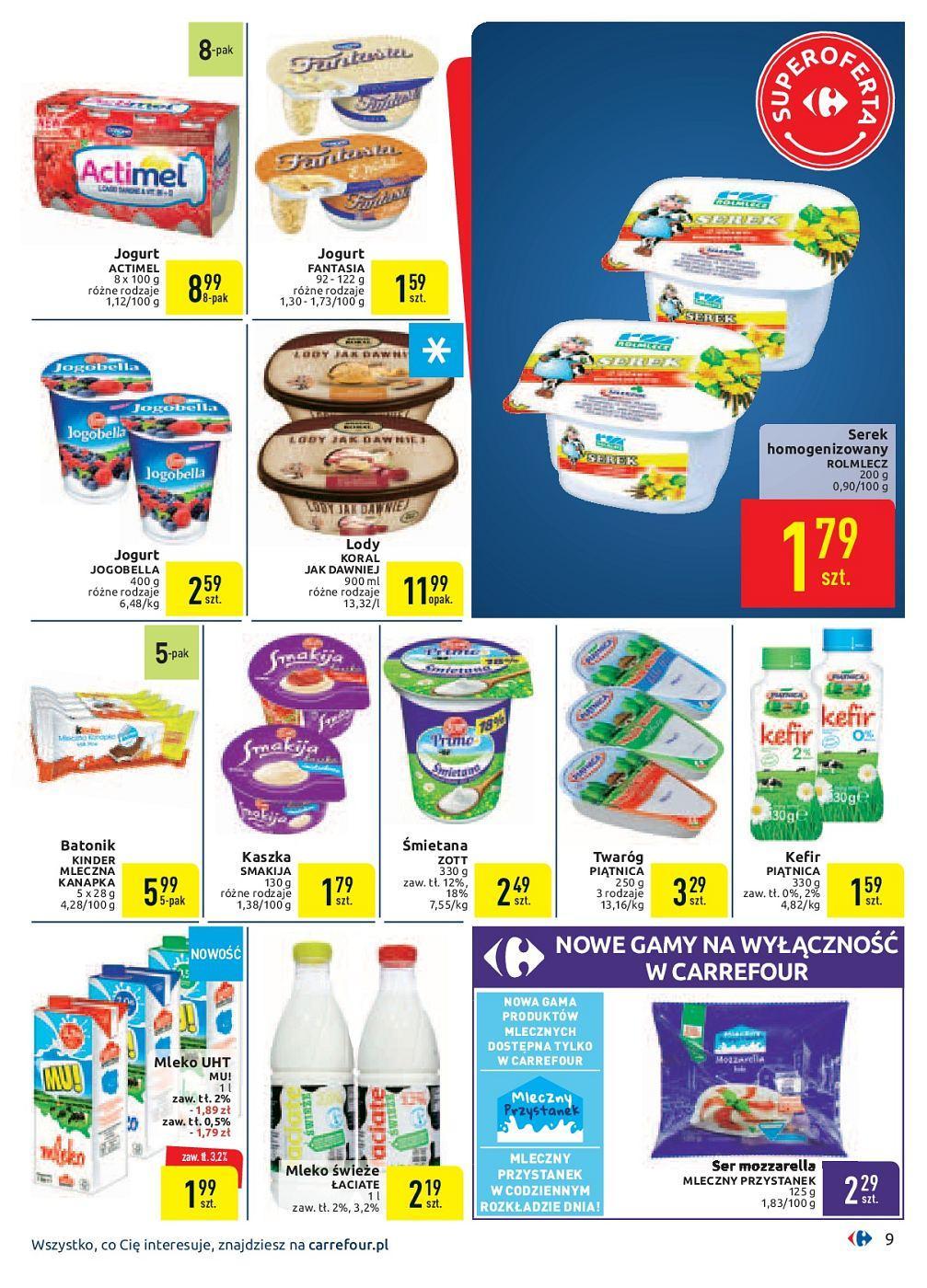 Gazetka promocyjna Carrefour do 30/09/2018 str.9