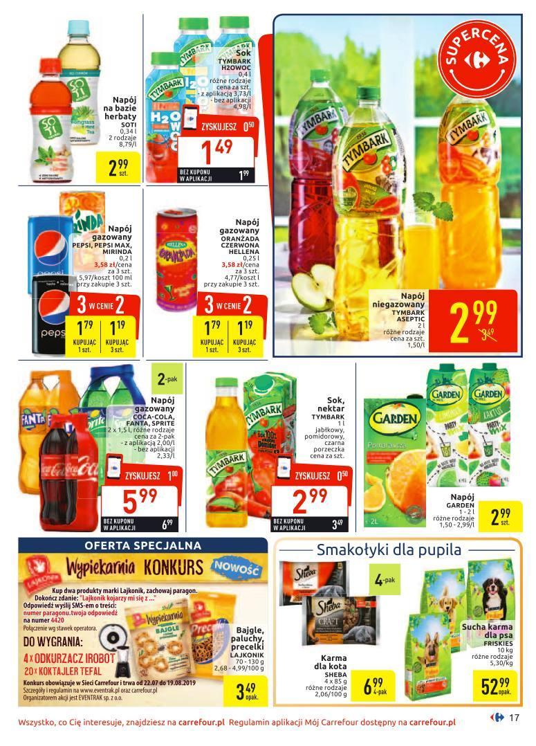 Gazetka promocyjna Carrefour do 03/08/2019 str.16