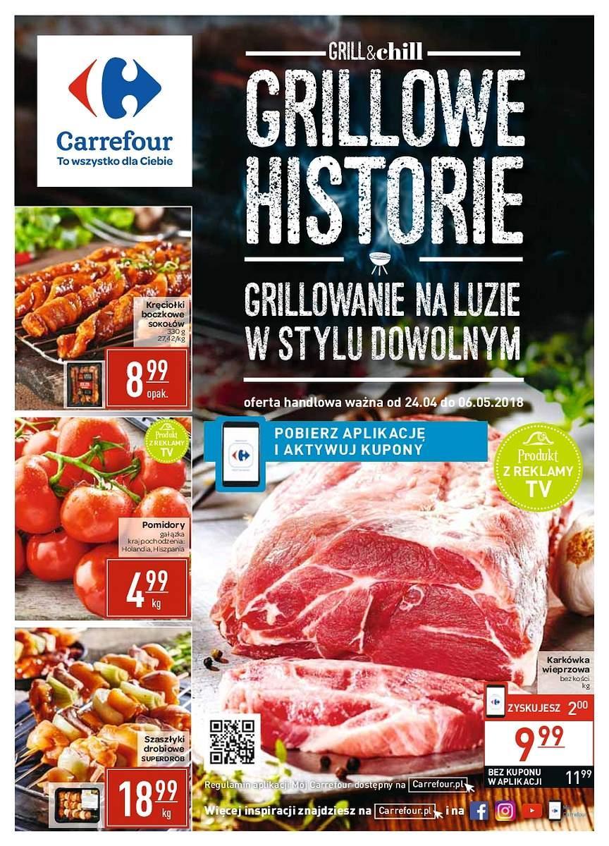 Gazetka promocyjna Carrefour do 06/05/2018 str.0