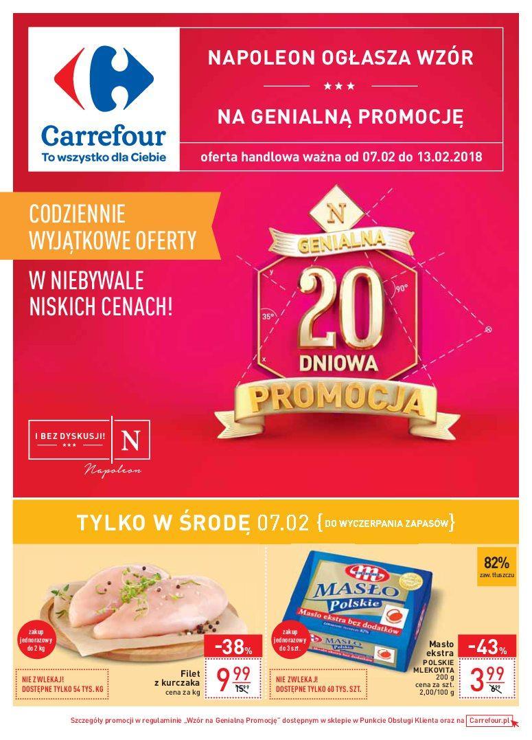 Gazetka promocyjna Carrefour do 13/02/2018 str.0