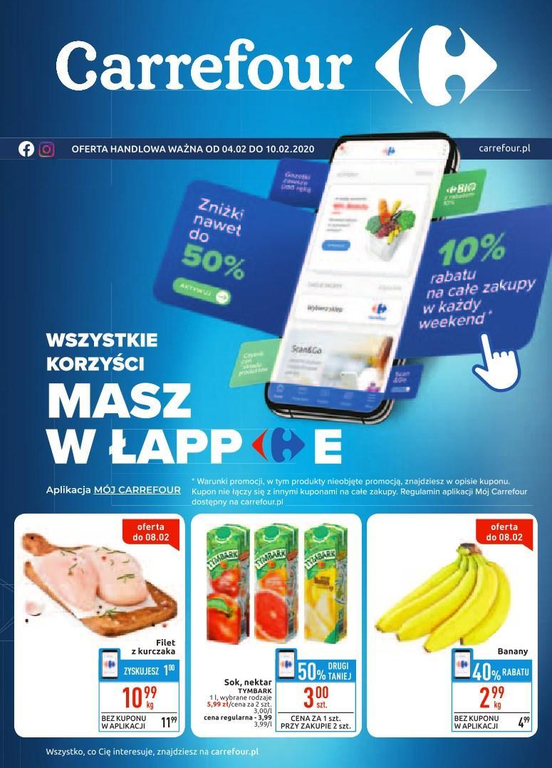Gazetka promocyjna Carrefour do 10/02/2020 str.0