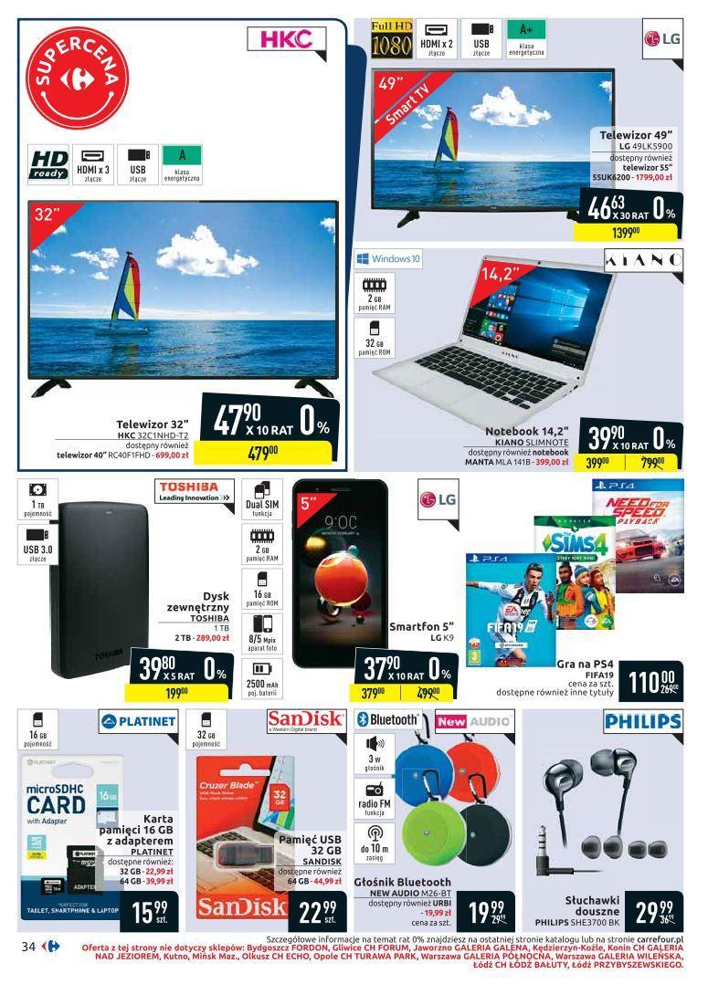 Gazetka promocyjna Carrefour do 19/08/2019 str.33