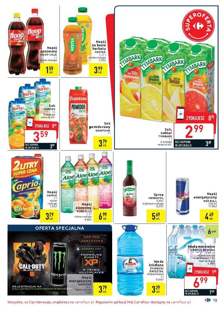 Gazetka promocyjna Carrefour do 25/11/2018 str.19