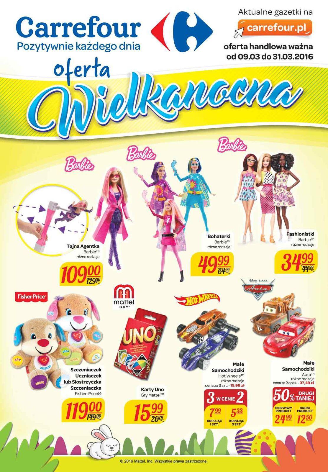 Gazetka promocyjna Carrefour do 31/03/2016 str.0