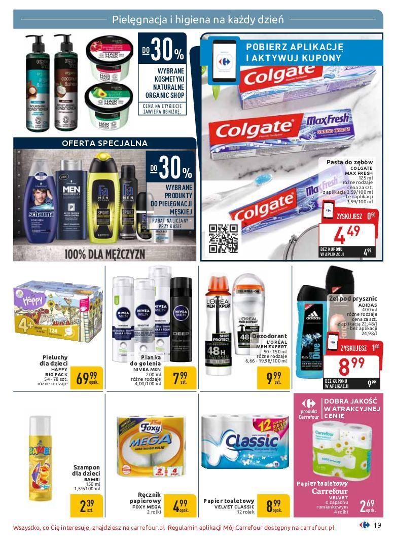 Gazetka promocyjna Carrefour do 19/01/2019 str.19