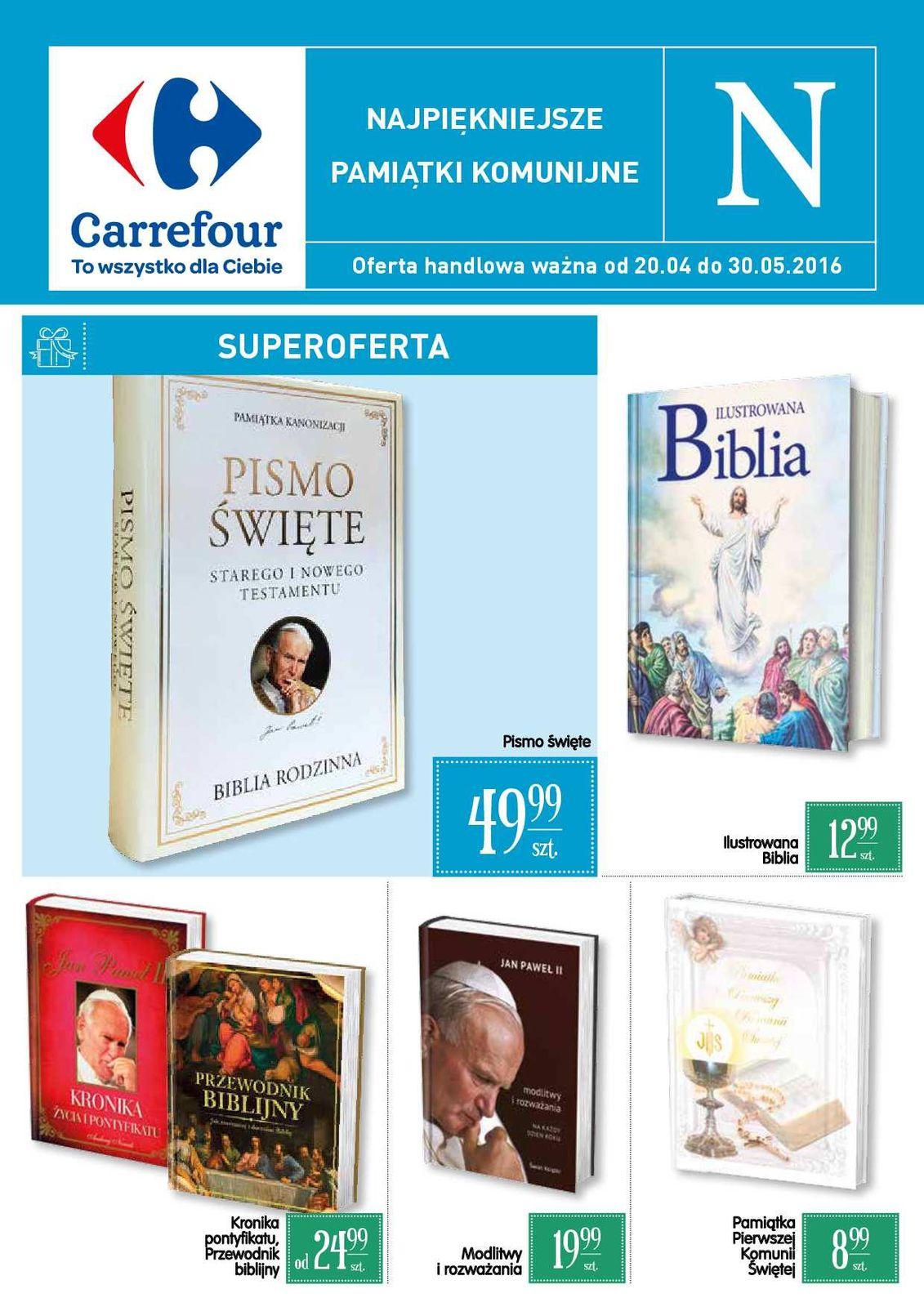Gazetka promocyjna Carrefour do 30/05/2016 str.0