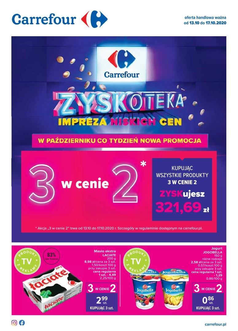 Gazetka promocyjna Carrefour do 17/10/2020 str.1