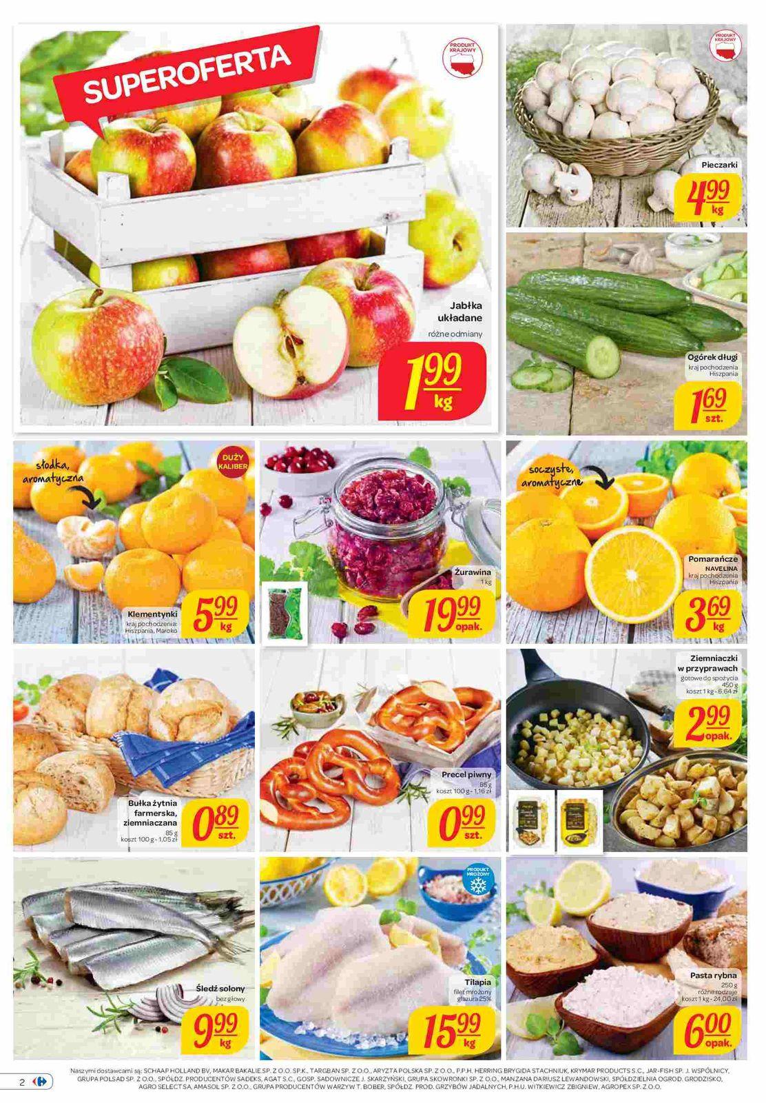 Gazetka promocyjna Carrefour do 17/11/2015 str.1