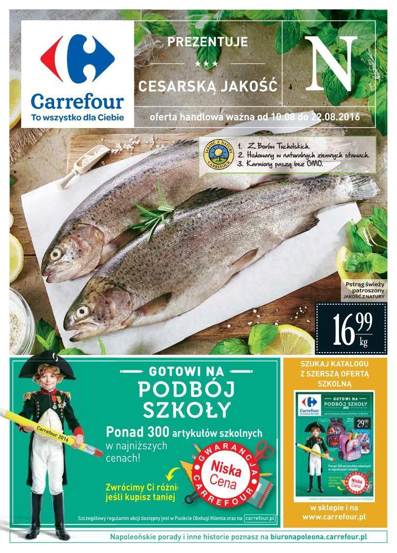 Gazetka promocyjna Carrefour do 22/08/2016 str.0