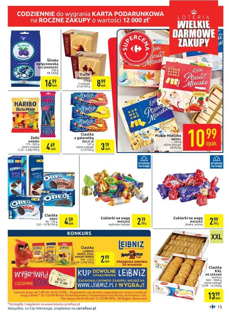 Gazetka promocyjna Carrefour do 05/10/2019 str.14