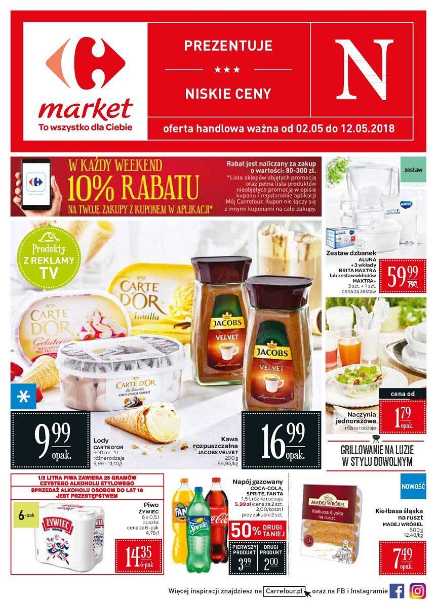 Gazetka promocyjna Carrefour Market do 12/05/2018 str.0