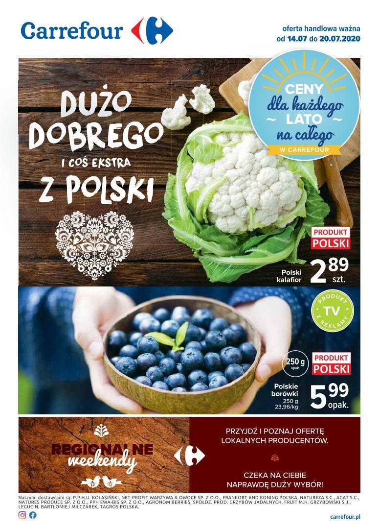 Gazetka promocyjna Carrefour do 20/07/2020 str.1