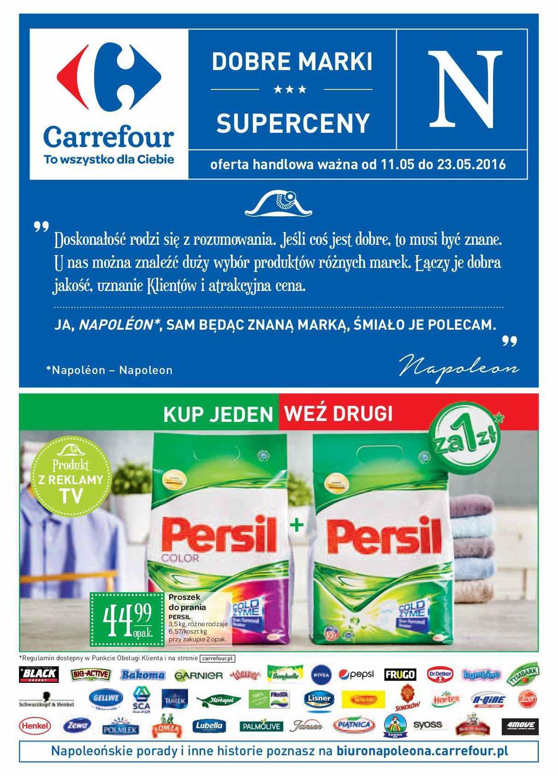 Gazetka promocyjna Carrefour do 23/05/2016 str.0