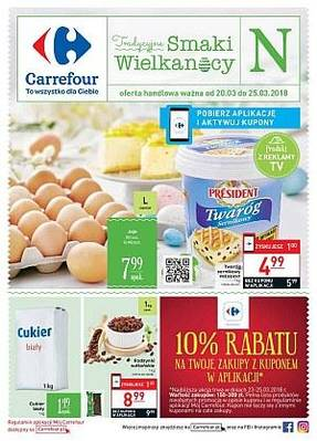 Carrefour gazetka - od 20/03/2018 do 25/03/2018