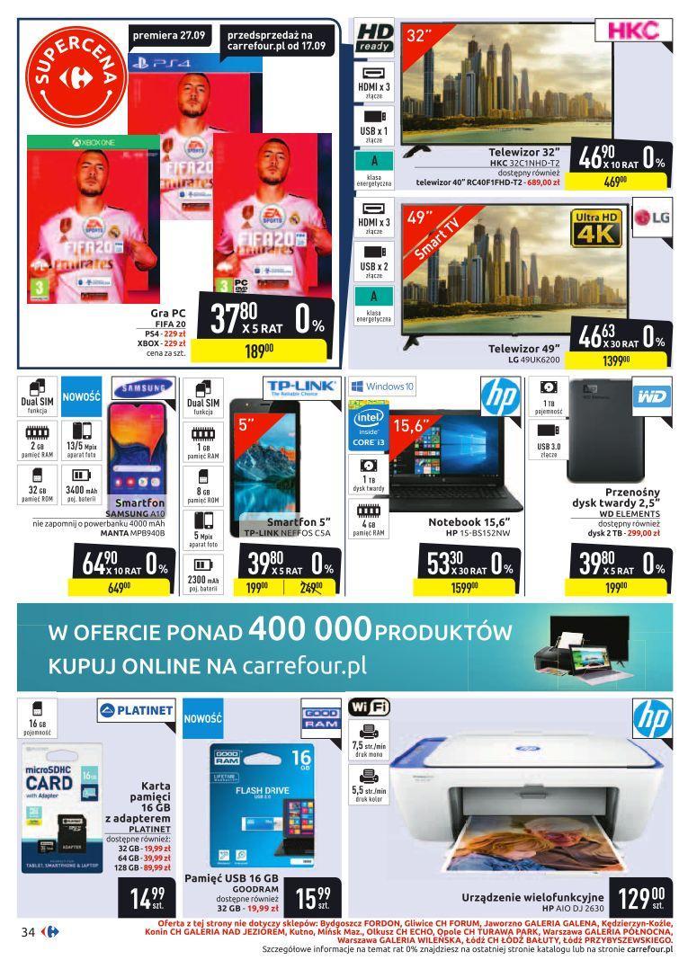 Gazetka promocyjna Carrefour do 29/09/2019 str.33