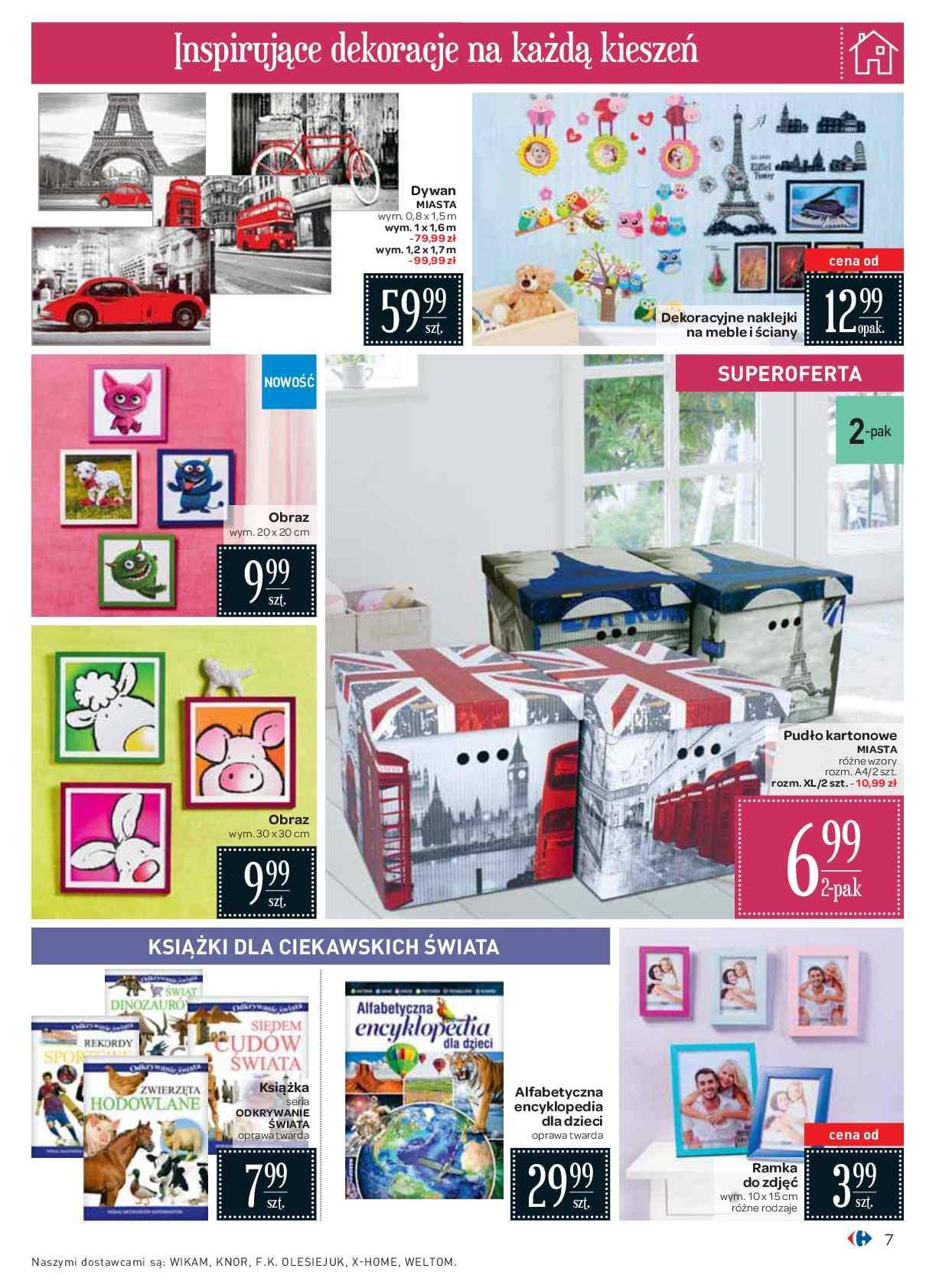 Gazetka Promocyjna I Reklamowa Carrefour Twój Dom Od 15