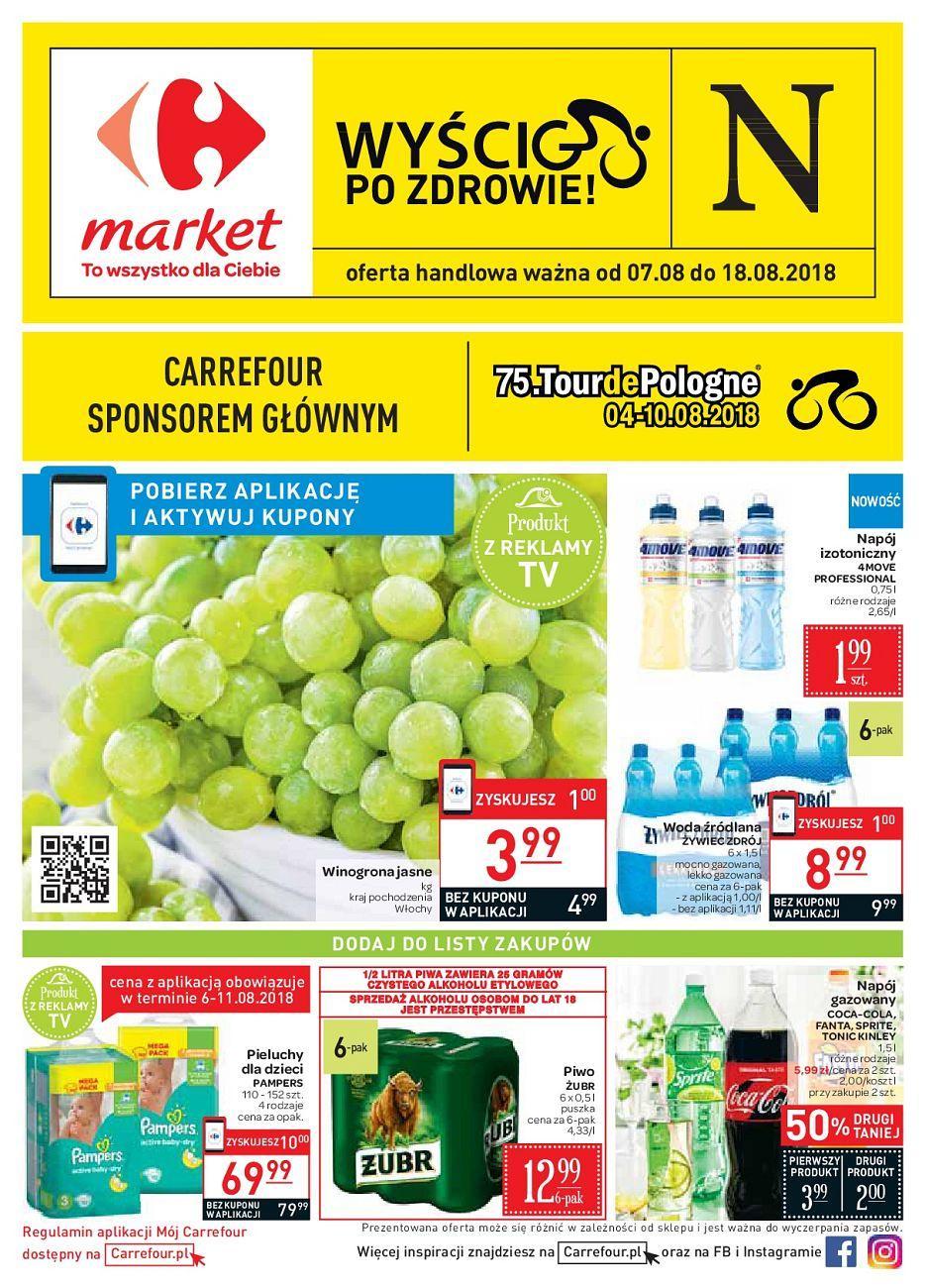 Gazetka promocyjna Carrefour Market do 18/08/2018 str.0