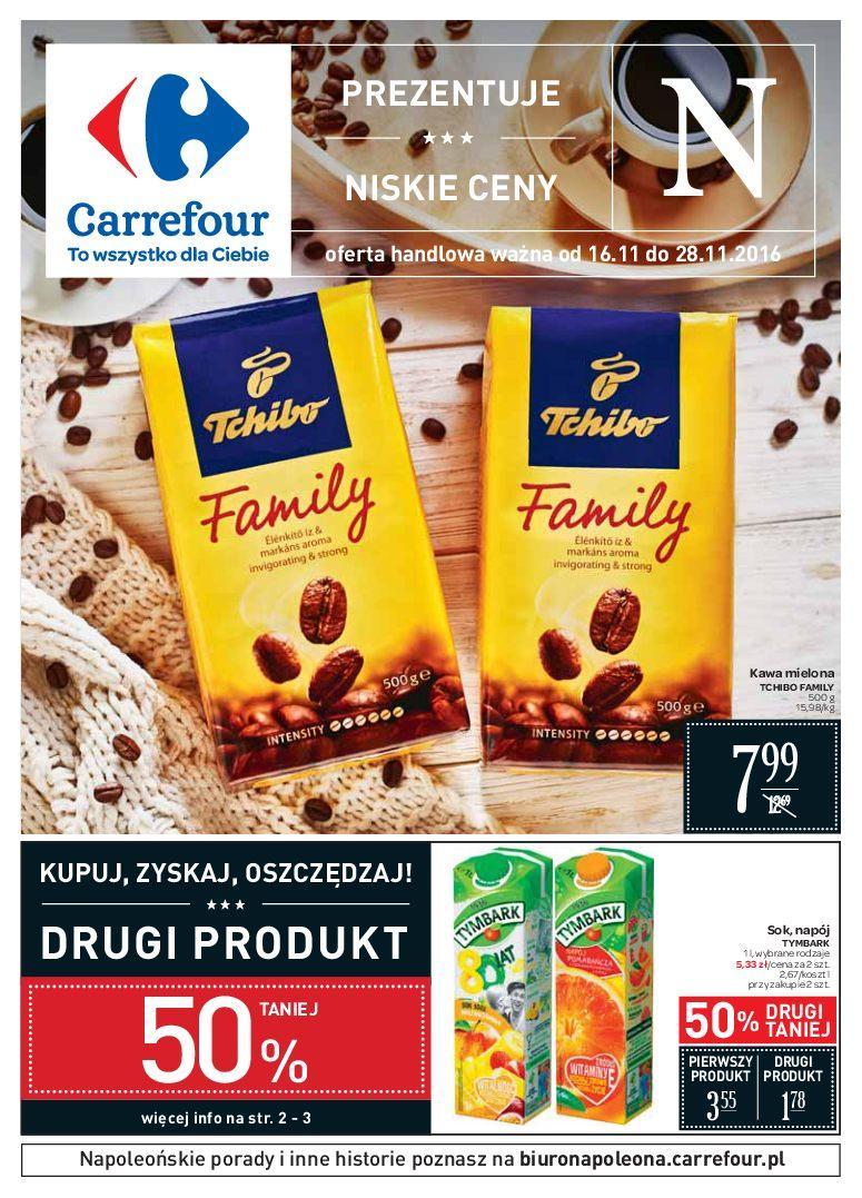 Gazetka promocyjna Carrefour do 28/11/2016 str.0
