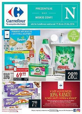 Carrefour gazetka - od 17/04/2018 do 29/04/2018
