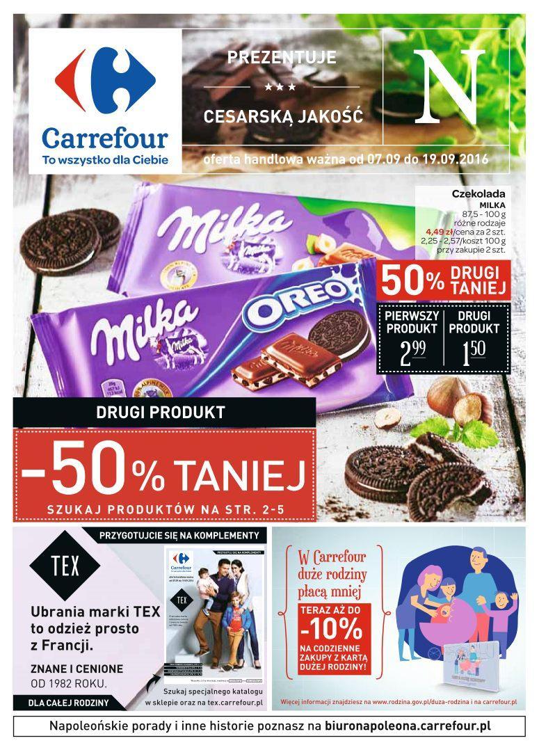 Gazetka promocyjna Carrefour do 19/09/2016 str.0