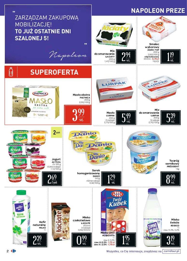 Gazetka promocyjna Carrefour do 31/10/2016 str.1