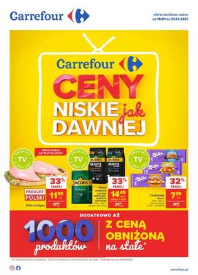 Carrefour gazetka - od 19/01/2021 do 31/01/2021