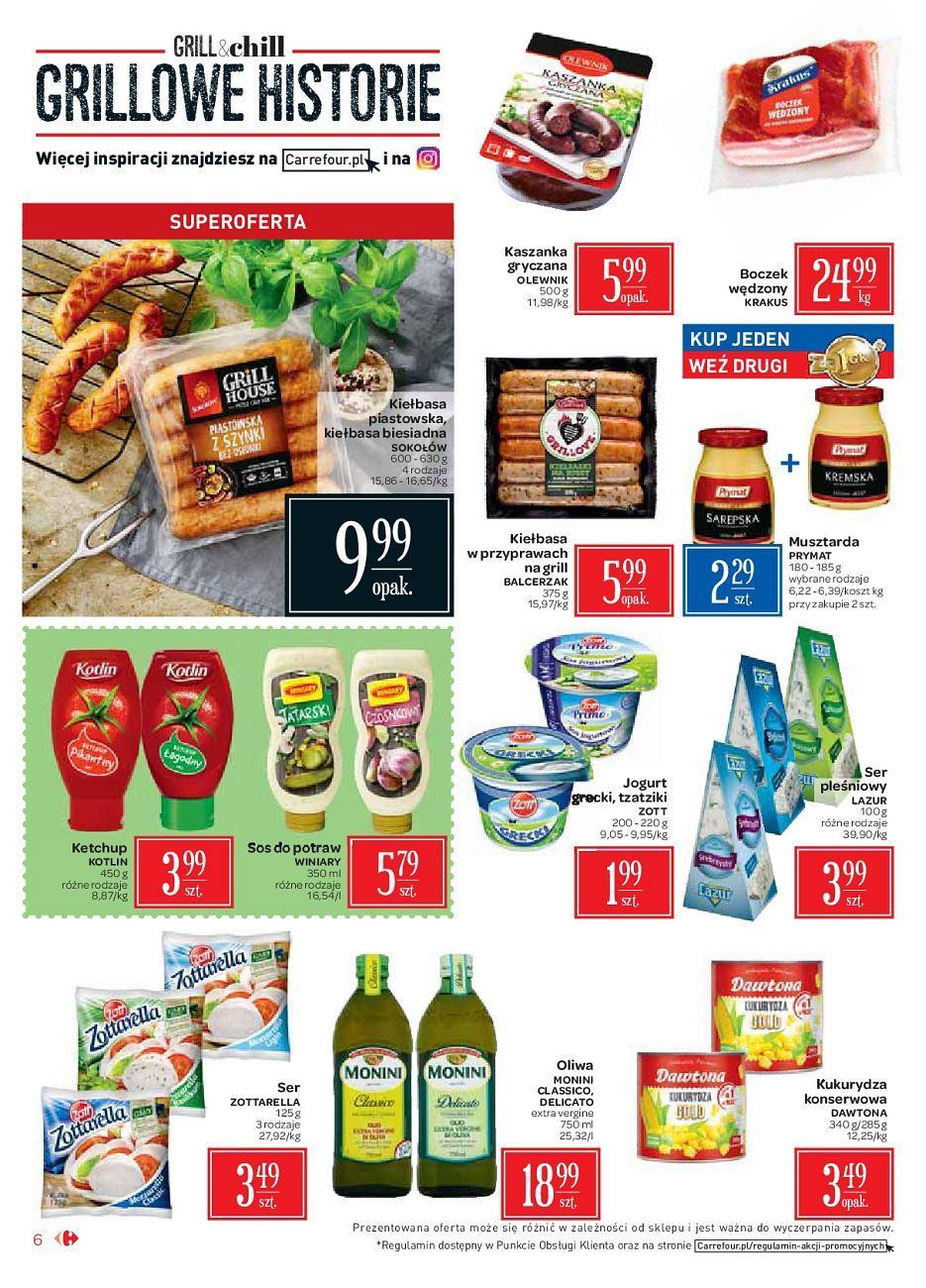 Gazetka promocyjna Carrefour Market do 18/08/2018 str.6