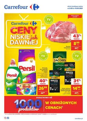 Carrefour gazetka  - od 02/03/2021 do 13/03/2021