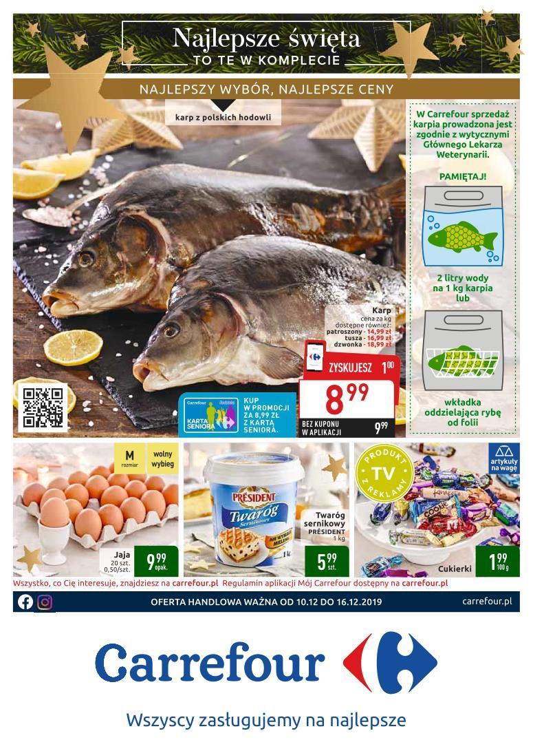 Gazetka promocyjna Carrefour do 16/12/2019 str.1