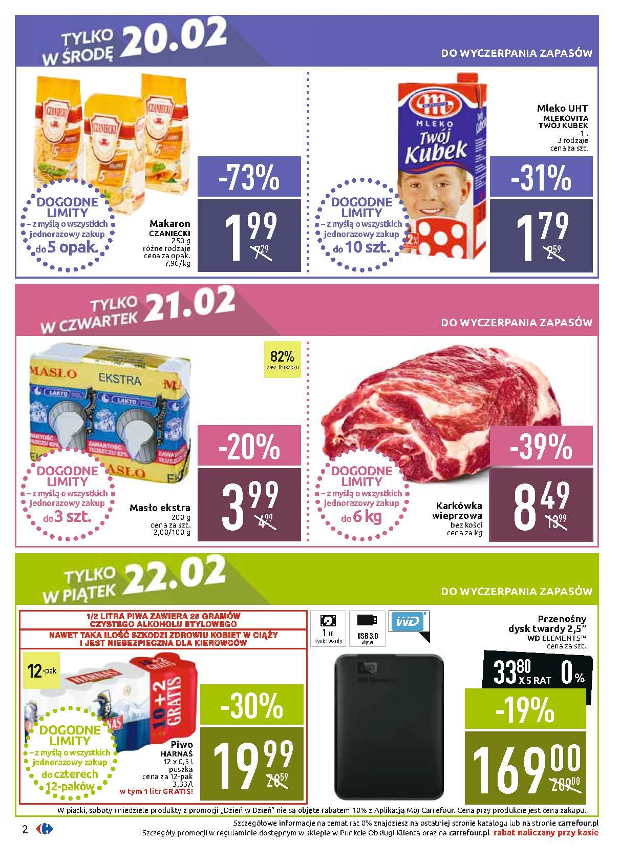 Gazetka promocyjna Carrefour do 25/02/2019 str.1
