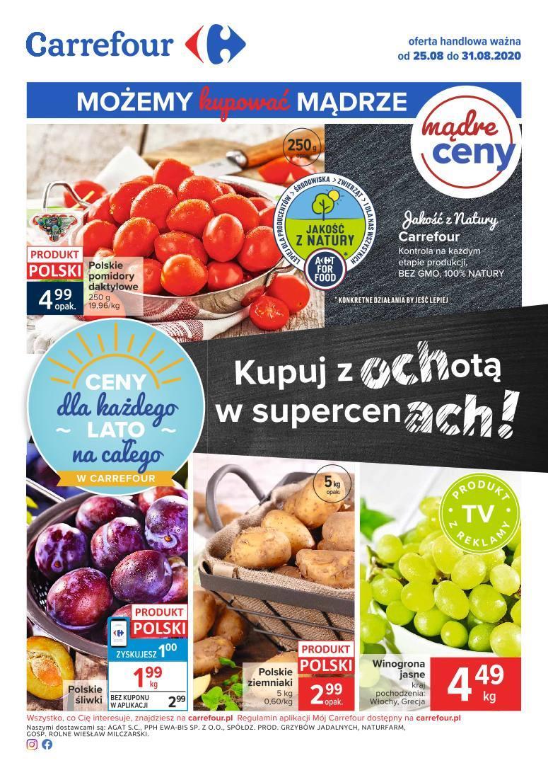 Gazetka promocyjna Carrefour do 31/08/2020 str.0