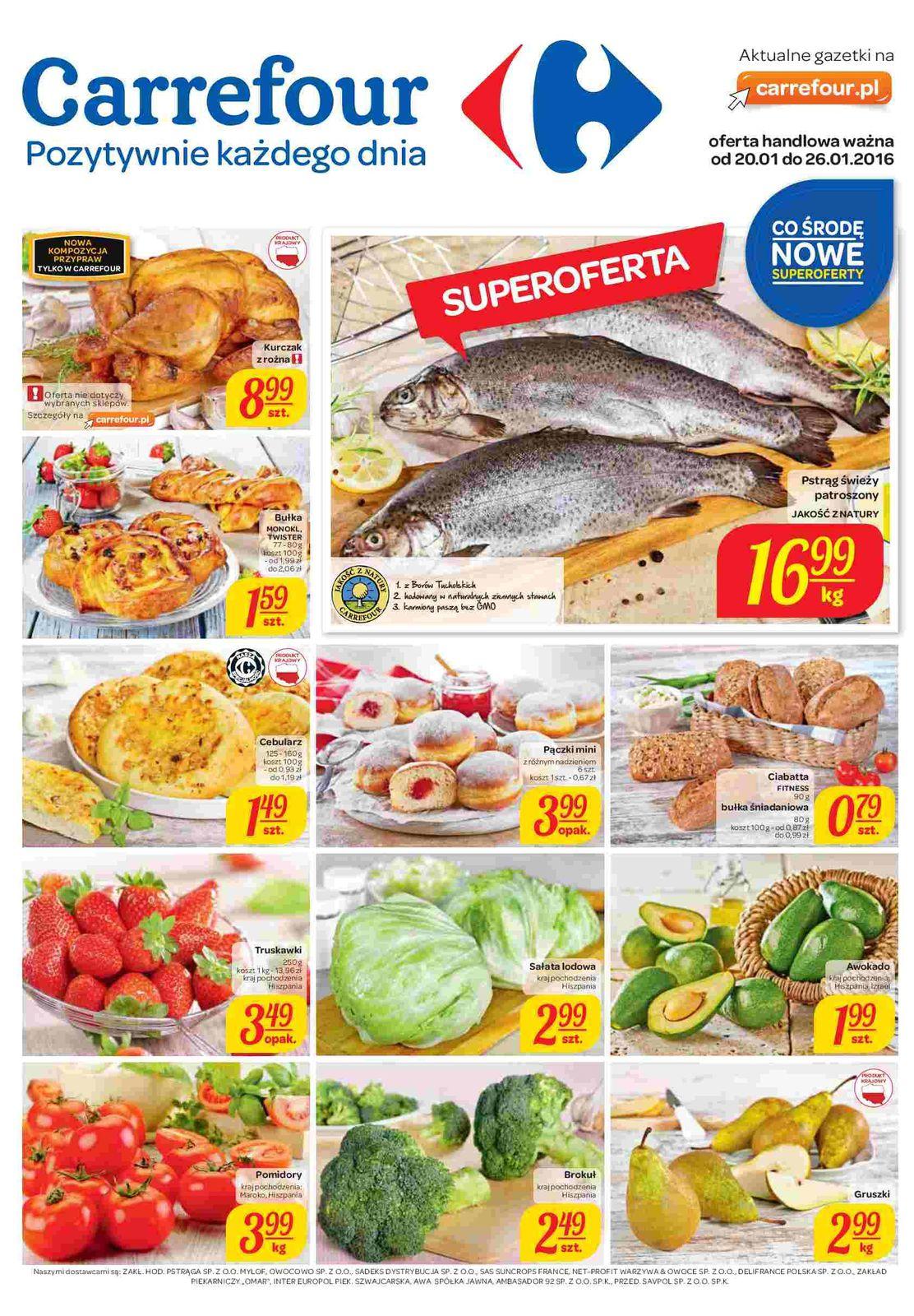 Gazetka promocyjna Carrefour do 26/01/2016 str.0