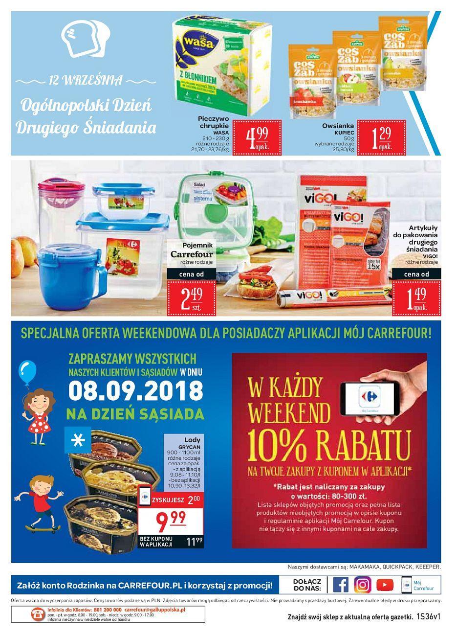 Gazetka promocyjna Carrefour Market do 15/09/2018 str.12