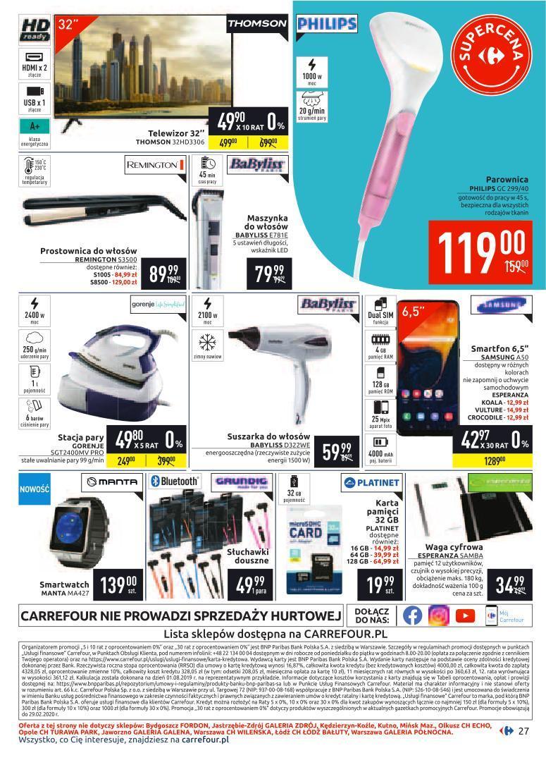 Gazetka promocyjna Carrefour do 10/02/2020 str.26