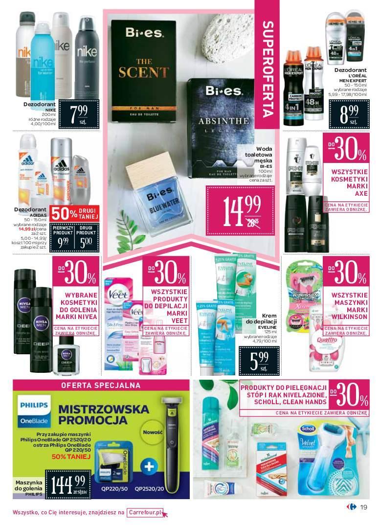 Gazetka promocyjna Carrefour do 24/06/2018 str.19