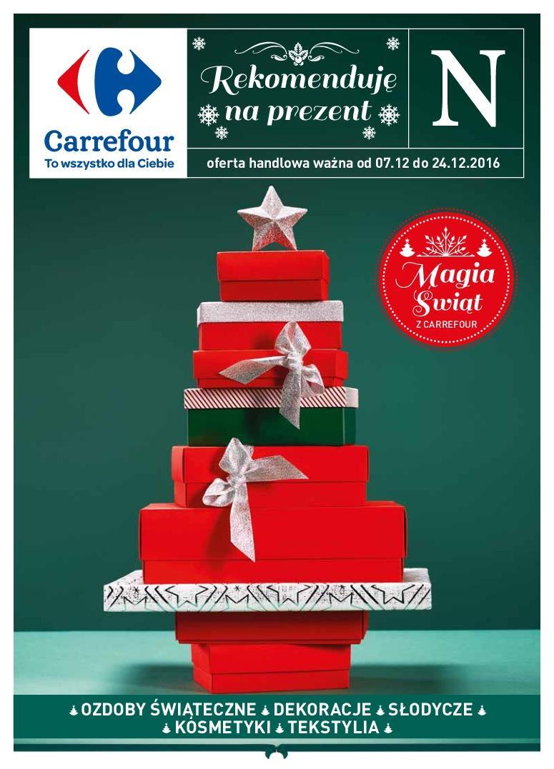 Gazetka promocyjna Carrefour do 24/12/2016 str.0