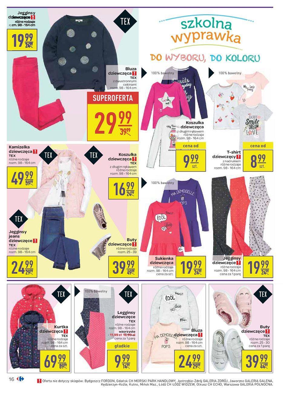 Gazetka promocyjna Carrefour do 04/09/2018 str.16