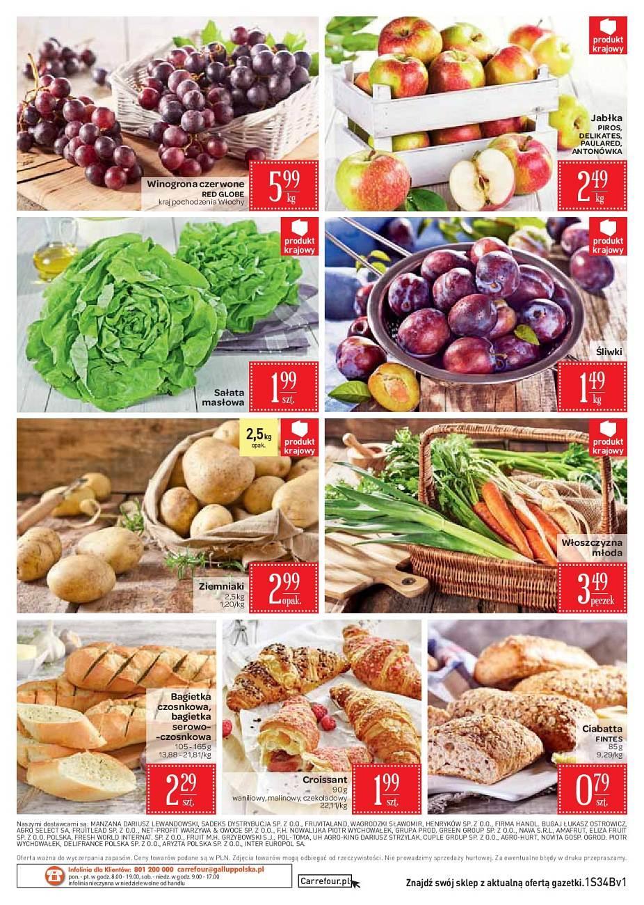 Gazetka promocyjna Carrefour Market do 27/08/2018 str.1