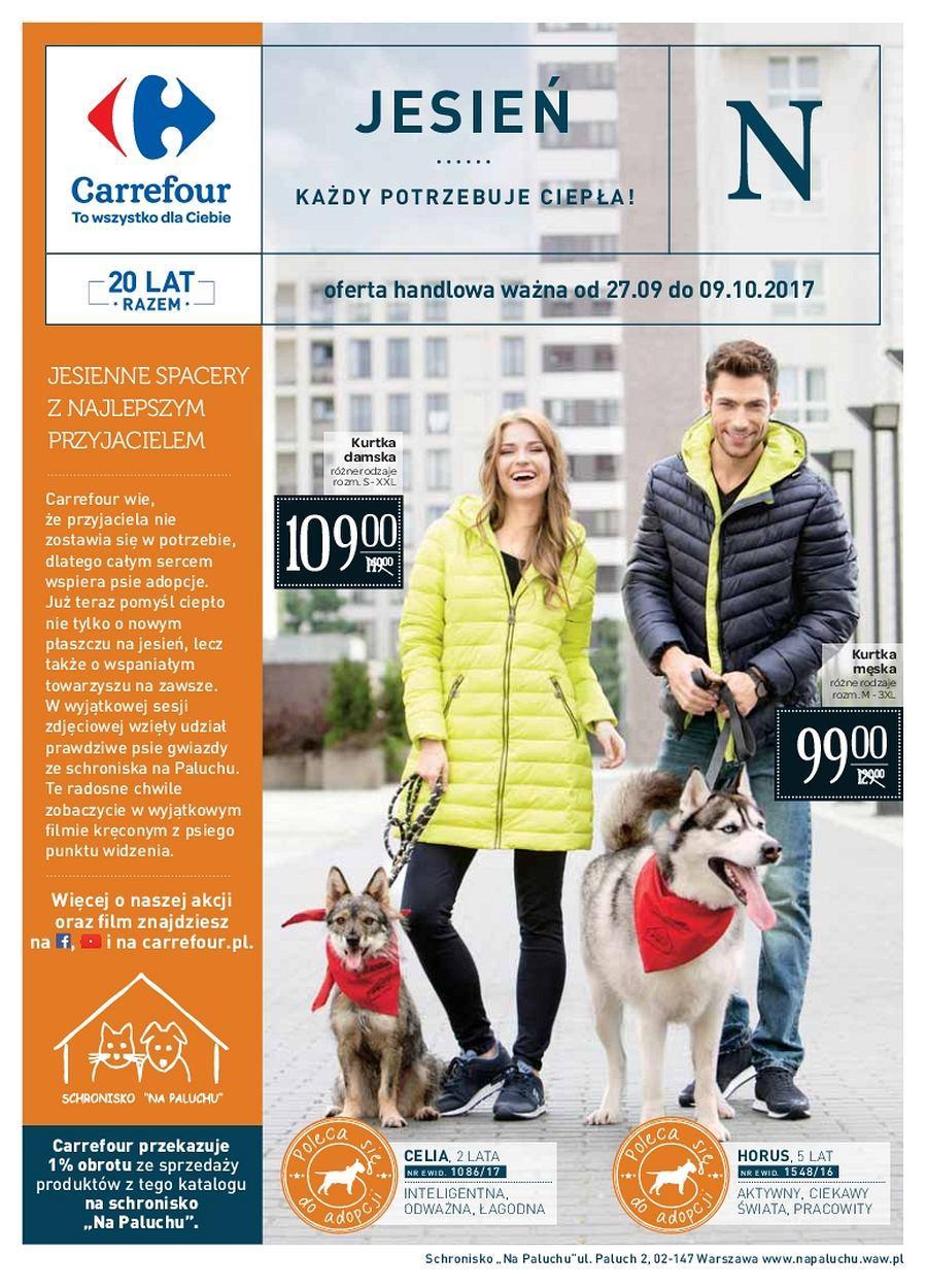 Gazetka promocyjna Carrefour do 09/10/2017 str.0